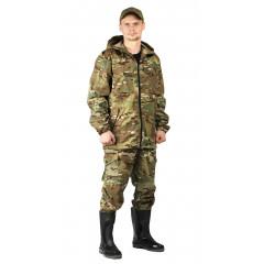 """Костюм """"Турист 2"""" куртка/брюки цвет"""" кмф """"Мультикам"""", ткань: Твил Пич"""