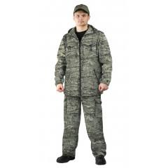 """Костюм """"Турист 2"""" куртка/брюки цвет: кмф """"Легион серый"""", ткань: Твил Пич"""