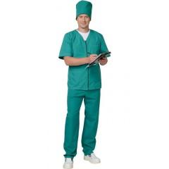 """Универсальный на """"молнии"""": куртка, брюки зелёный"""