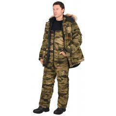 """Костюм """"Беркут-тайга"""" зимний: куртка дл., п/комб. КМФ """"Питон"""""""