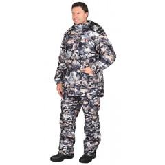 "Костюм ""ХАНТЕР"" зимний: куртка дл., брюки (тк.""Алова"") КМФ ""Полигон"""