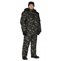"Костюм зимний ""СКАНДИН"" куртка/полукомб. цвет: кмф ""СКАЛА"", ткань: Алова"