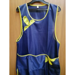 Сарафан нейлон синий с желтым