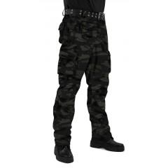 "Брюки мужские ""Gerkon Commando"" летние кмф т.Твил 210 гр. ""Чёрная кукла"""