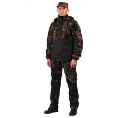"""Флисовый костюм """"Панда"""" кмф """"Осень"""" с накладками,350г/м2"""