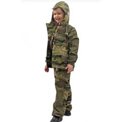 Костюм детский летний  Горка 5 Зеленый тигр Рип Стоп ,