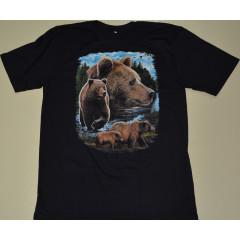 Футболка медведи (р-р 48-56)