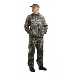 """Костюм """"ТУРИСТ 3"""" куртка/брюки, цвет: кмф """"Сетка зеленый"""", ткань: Грета"""