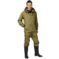 "Костюм противоэнц. ""Антигнус"": куртка, брюки (п-но палаточное) ХАКИ"