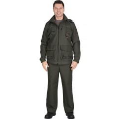"Костюм ""Мичиган-2"" куртка, брюки  темный хаки"