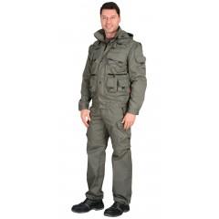 """Костюм """"Тигр"""" куртка, брюки (тк.смесовая ) Оливковый"""