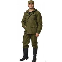 """Костюм """"Гео"""" куртка дл., брюки  Хаки"""