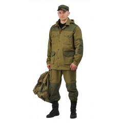 """Костюм """"ГОРКА ШТУРМ"""" куртка/брюки кмф """"Св.хаки"""", ткань: Палатка-235"""