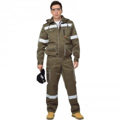 "Костюм ""Титан"": куртка кор., п/комб. хаки с СОП"