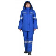 """Костюм """"Скорая помощь"""" женский зимний: куртка, п/комб."""
