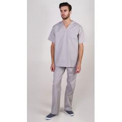 Костюм универсальный хирурга (тк.Панацея,160), серый