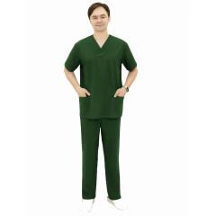 Костюм мужской хирурга (тк.Панацея,160), т.зеленый