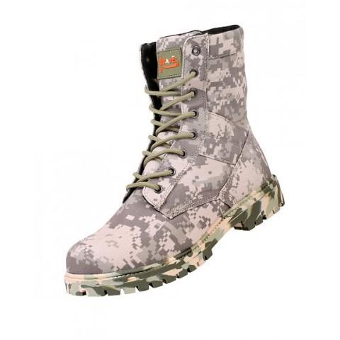"""Ботинки с высоким берцем """"Сайга"""" (пустыня)"""