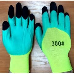 Перчатки НЕОН усиленный (нейлоновые со вспененным покрытием)