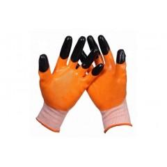 Перчатки СИГНАЛ усиленные (нейлоновые с 2-м нитриловым покрытием)