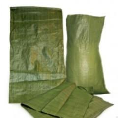 Мешок для строительного мусора полипропелен зеленый