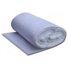 Вафельная ткань плотностью 200, ширина 45 в рулоне 60 м.