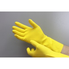 Перчатки хозяйственные (1 сорт) L, M