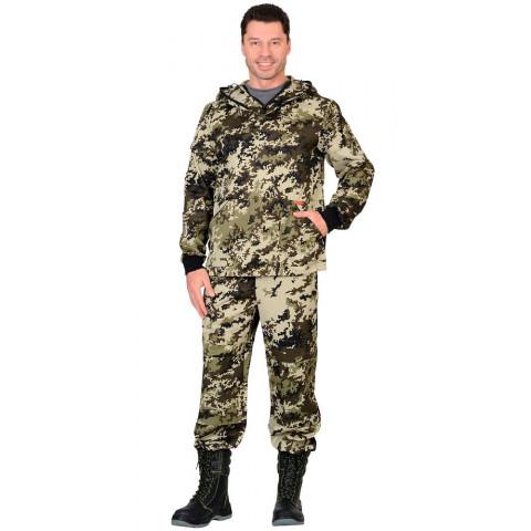 """Костюм противоэнцефалитный """"Антигнус"""": куртка, брюки КМФ Пиксель"""