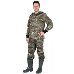 """Костюм противоэнц. """"Антигнус СТ"""": куртка, брюки (тк. Crown) КМФ Питон"""