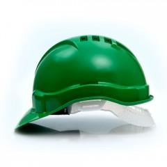 Каска промышленная Европласт зеленая