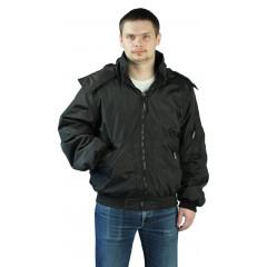 """Куртка демисезонная """"БОМБЕР"""" Черный"""