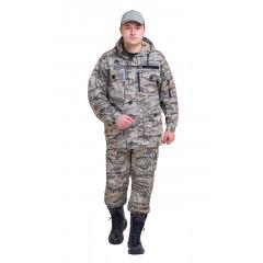 "Костюм ""СУМРАК"" куртка/брюки, цвет: кмф ""Легион серый"" , ткань: Рип-Стоп"