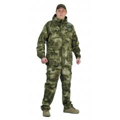 "Костюм ""СУМРАК"" куртка/брюки, цвет: кмф ""Атака зелёная"", ткань: Рип-Стоп"