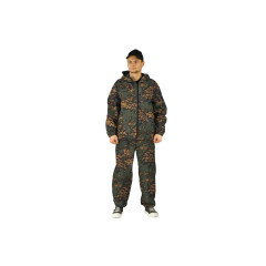 "Костюм ""МАСКХАЛАТ"" куртка/брюки, цвет: кмф ""Лягушка"", ткань: СОРОЧЕЧНАЯ МАХ"