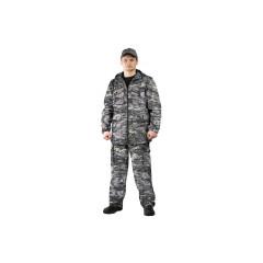 "Костюм ""Турист 2"" куртка/брюки цвет: кмф ""Цифра светло-серая"", ткань: Твил Пич"