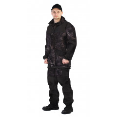 """Костюм """"ГОРКА-ГОРЕЦ"""" куртка брюки кмф КМФ чёрный"""