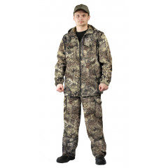 "Костюм ""Турист 2"" куртка/брюки цвет"" кмф ""Питон коричневый"", ткань: Твил Пич"
