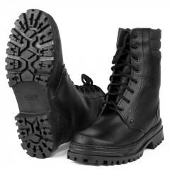Ботинки с высоким берцем Армия хром на натуральном меху