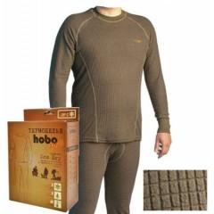 Термобельё перфорированное (фуфайка. кальсоны) Hobo Pro DryWarm стрейч-флис хаки