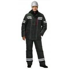 "Костюм ""Галактика"" зимний: куртка, брюки, т.серый и СОП"