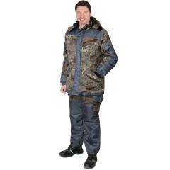 """Костюм """"ГОРКА"""" зимний: куртка дл., брюк. КМФ """"Питон"""""""