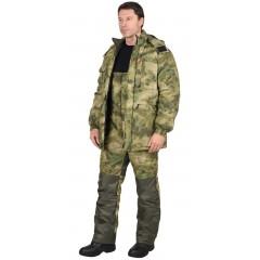 "Костюм ""Барс"" зимний: куртка, п/к. (тк. рип-стоп) КМФ Болото"