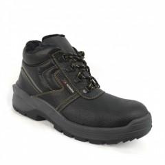 Ботинки кожаные утепленные с МП  и без МП